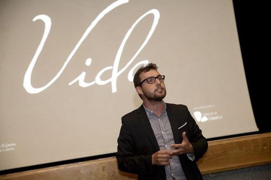 Presentación del proyecto «Vida» de Rubén Ríos
