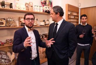 Con Rubén Riós y José Ramón en Castañam